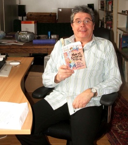 david reading in his office