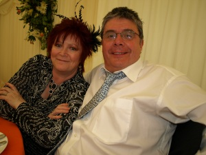 David with wife Paula, at a special family wedding