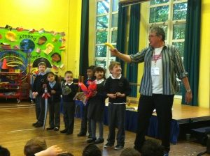 David meets with fierce Hamstead pirates.OOO -ARRRRRR