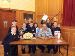 The winners!!!!! Ysgol Y Llan